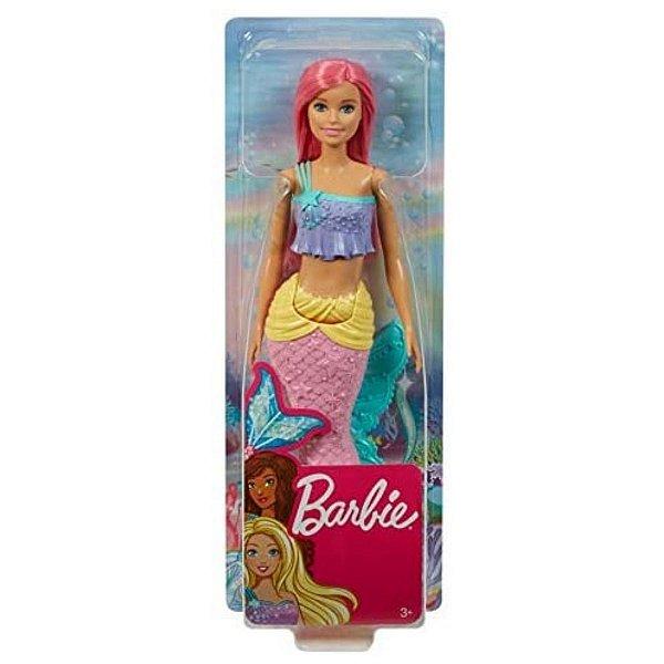 Boneca Barbie Sereia Dreamtopia Cabelo Rosa - Mattel