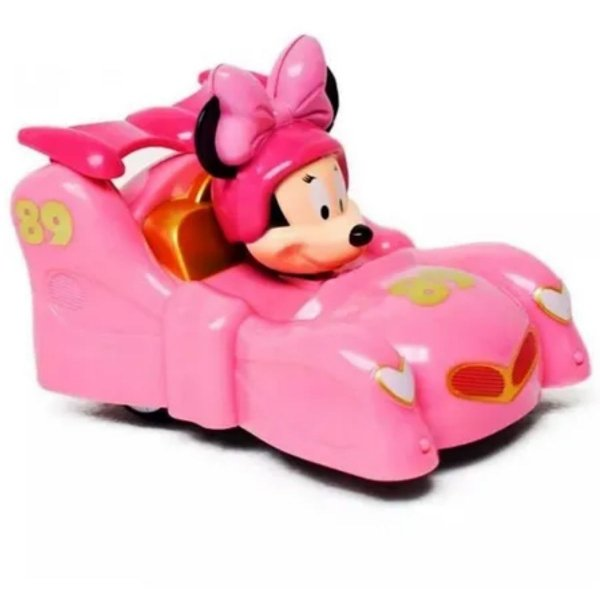 Carro De Corrida Roda Livre Minnie Disney - Toyng
