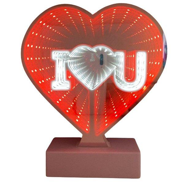 Luminária Led Coração USB