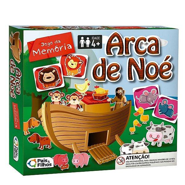 2785 - Jogo da Memória Bíblico Arca de Noé