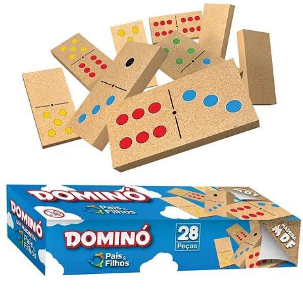 Domino em Madeira - Pais e Filhos