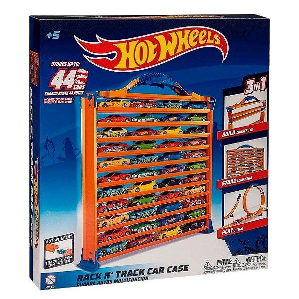Pista Porta Carrinho Hot Wheels 3 Em 1 - Fun