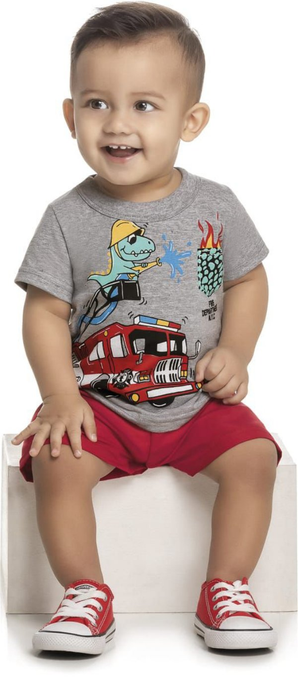Conjunto Bebê  Wrk - Dinossauro