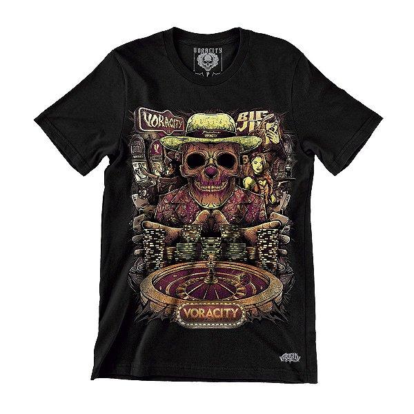 Camiseta Cassino Vegas Death - Voracity
