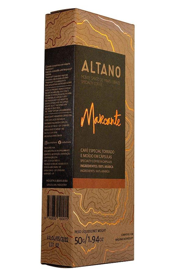 Café Altano Cápsula Marcante com 10 Cápsulas 50g