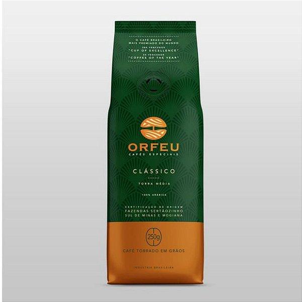 Café Orfeu Torrado em Grãos Clássico 250g