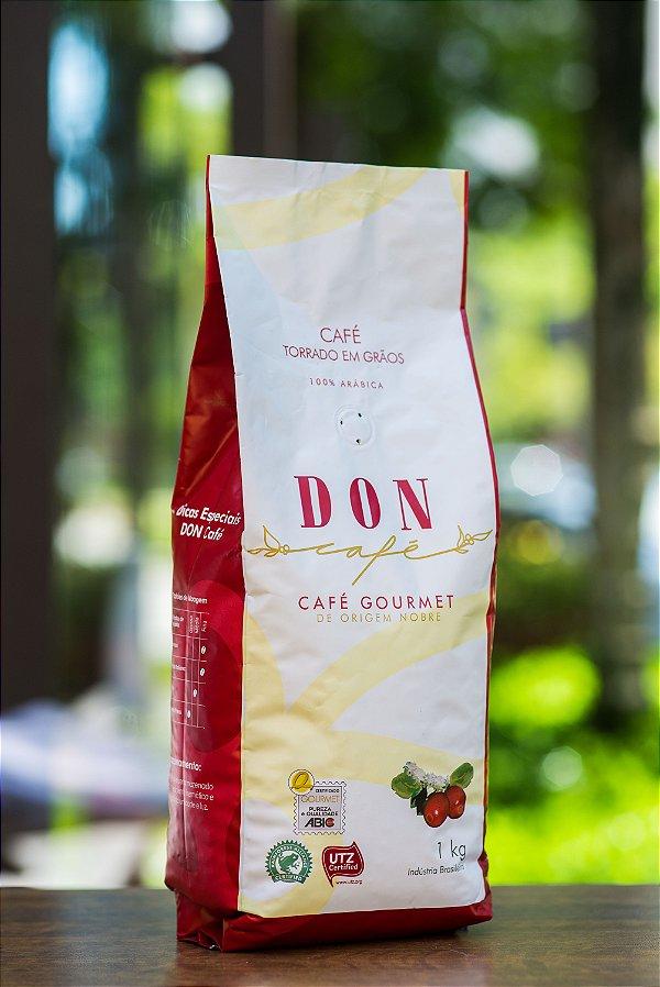 Café Don Gourmet em Grãos 1 Kg