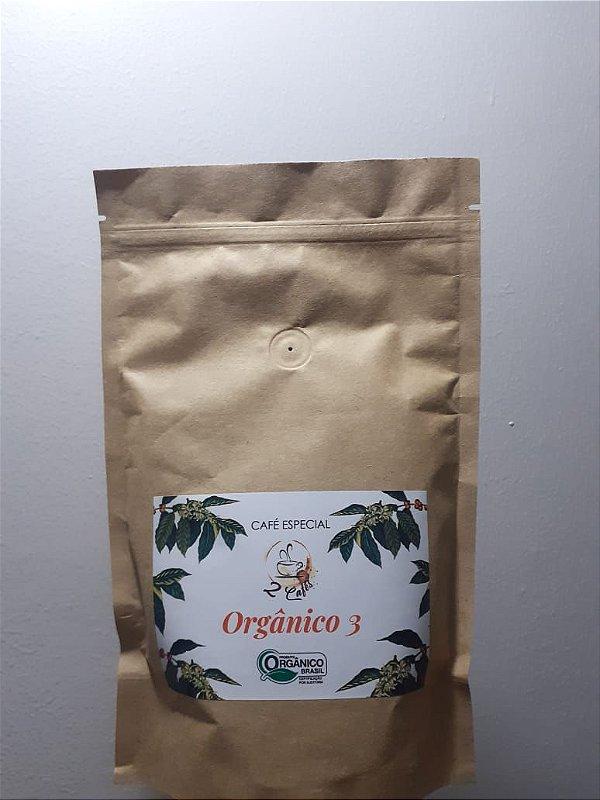 Café Orgânico 2 cafés moído 250g