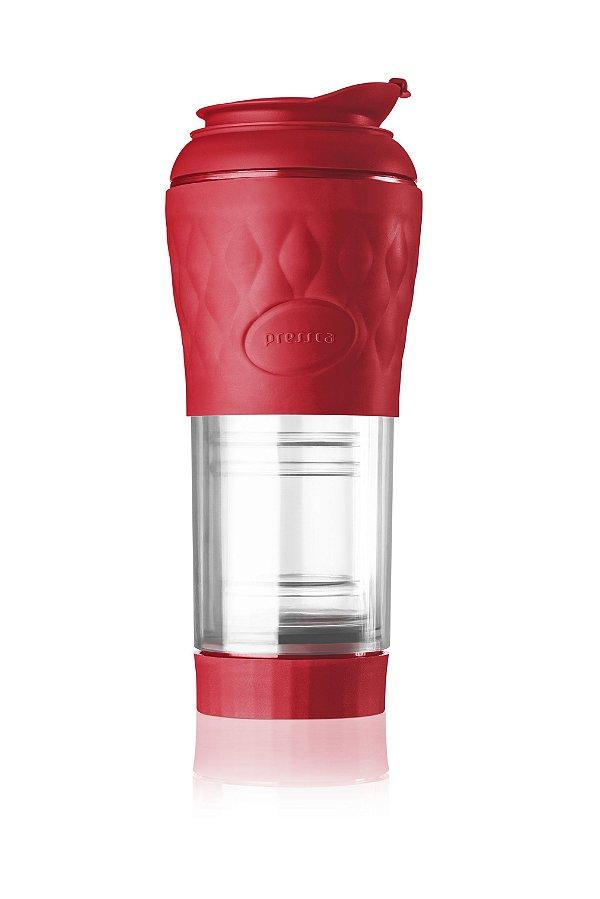 Cafeteira Pressca Vermelho Ruby 350 ml