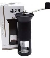Moedor de café manual Bialetti Preto + (Brinde > Balança dose certa)