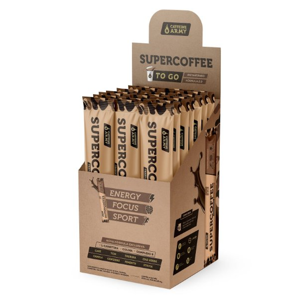 Super Coffee To Go com 14 saches