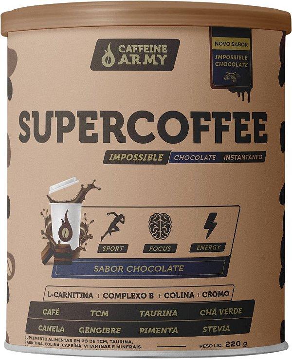 Supercoffee Chocolate 220g (22 doses de 10g)