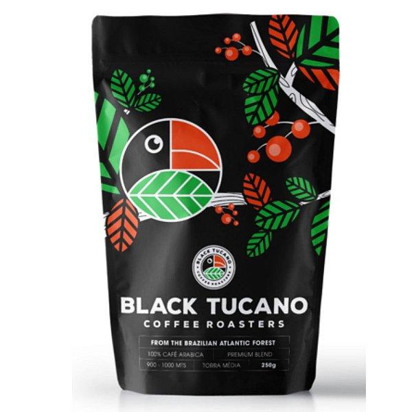 Café Black Tucano Premiun Blend em grãos 250 g