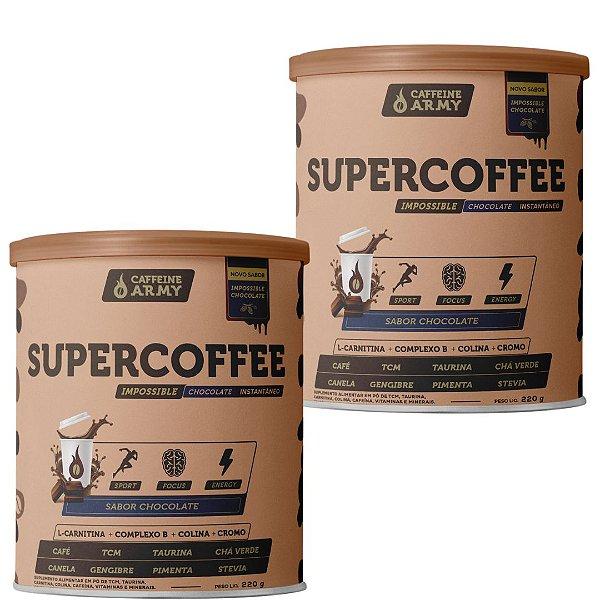 2 Latas de Supercoffee Impossible Chocolate de 220g