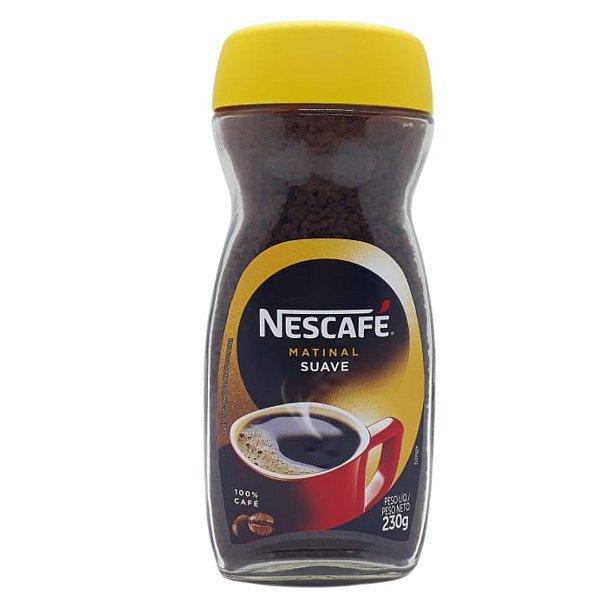 Café Solúvel Nescafé Matinal Vidro 230g