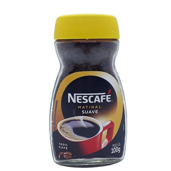 Café Solúvel Nescafé Matinal Vidro 100g