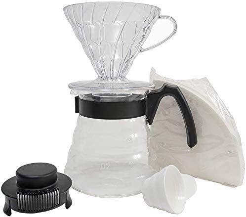 Conjunto Kit Hario V60 Craft Coffee Maker V60-02