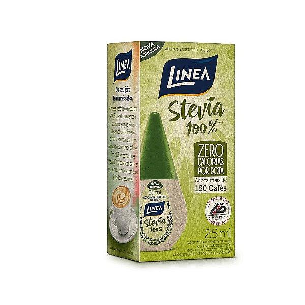 Linea Adoçante Líquido Stevia 100% 25 ML