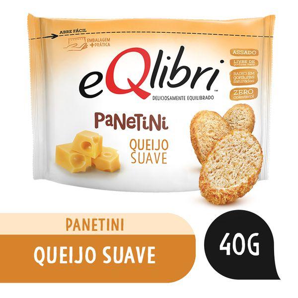 Biscoito Eqlibri Panetini Queijo Suave 40g