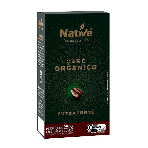 Café Orgânico Torrado e Moído Extra Forte Native 250g
