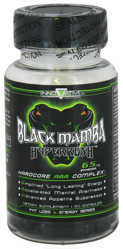 Black Mamba Hyperrush 90 Cápsulas