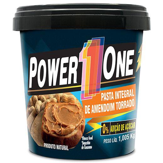 PASTA DE AMENDOIM 1KG POWER ONE