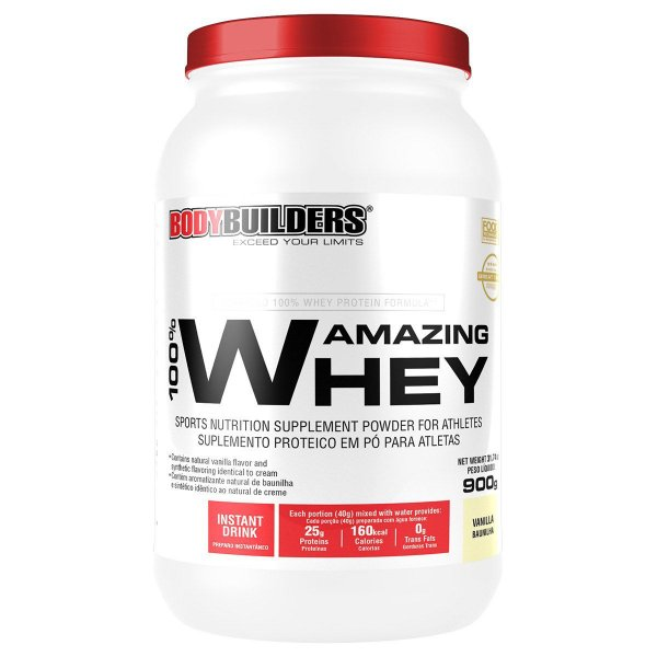 AMAZING WHEY 900g Bodybuilders