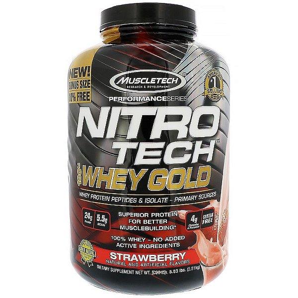 NITROTECH GOLD 2,5 kg Muscletech