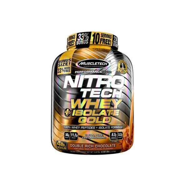 NITROTECH ISOLATE GOLD 1,8 kg Muscletech