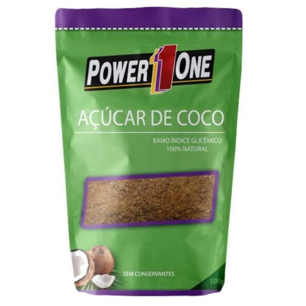 AÇÚCAR DE COCO 100g Power1one