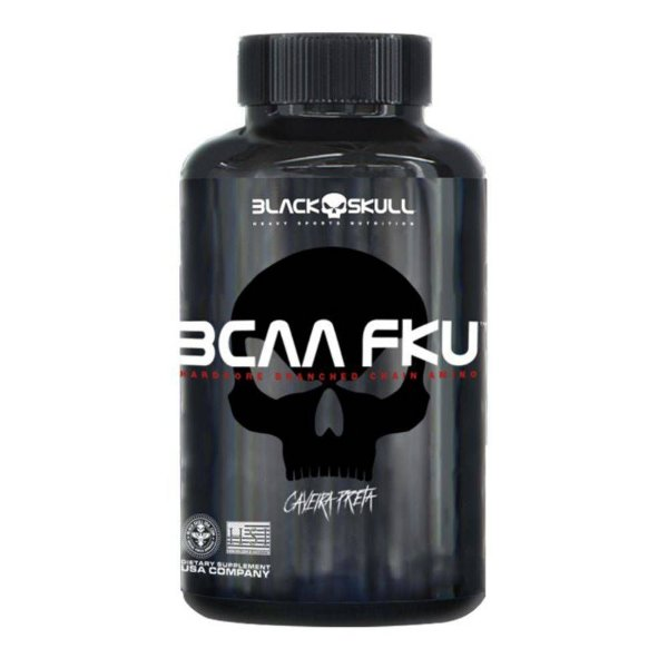 BCAA FKU 240 tablets Black Skull