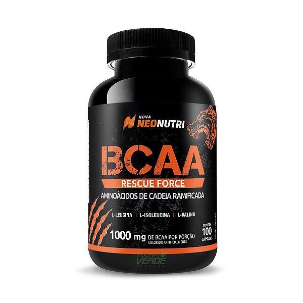 BCAA RESCUE FORCE100 caps NeoNutri