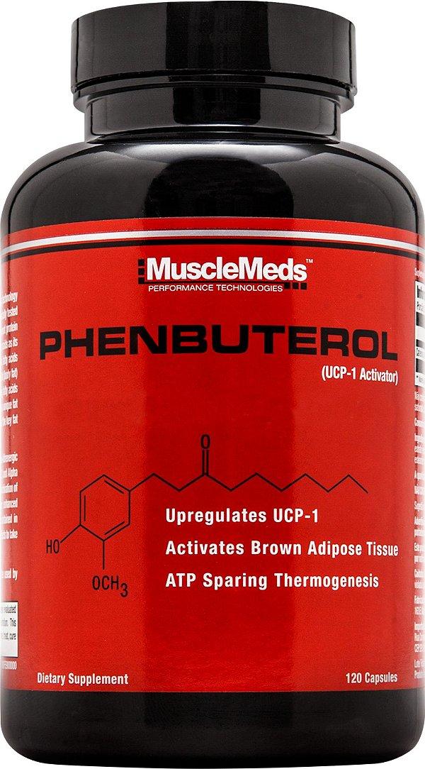 PHENBUTEROL -,120 caps - Musclemeds