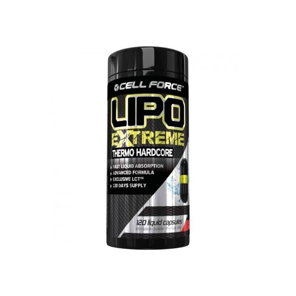 LIPO EXTREME 120 caps Cell Force- VPX