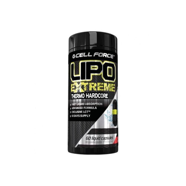LIPO EXTREME 60 caps Cell Force - VPX