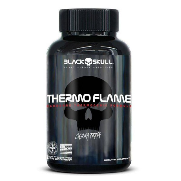 THERMO FLAME- 60 caps - Black Skull