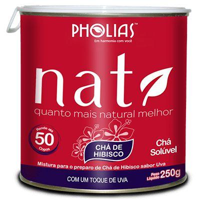 NAT CHÁ DE HIBISCO 250g Pholias - Uva