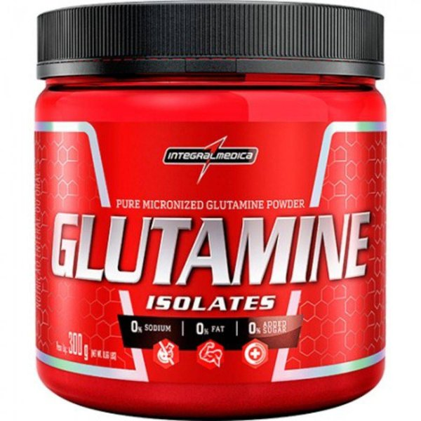 GLUTAMINE ISOLATES - 300g - Integral Médica