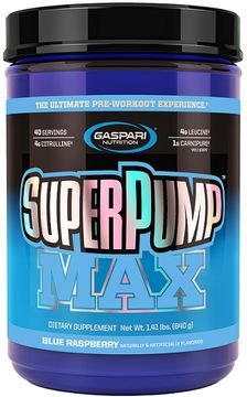 SUPER PUMP MAX 640g Gaspari Nutrition