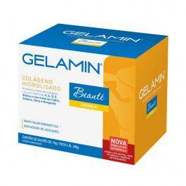 GELAMIN 30 sachês Beauté - Limão