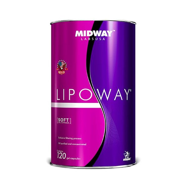 LIPOWAY - 120 caps - Glamour Nutrition