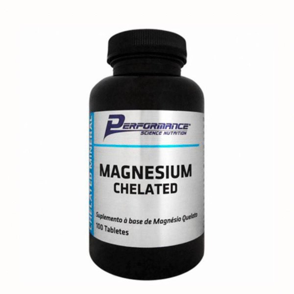 MAGNESIUM CHELATED - 100 tablets - Performance