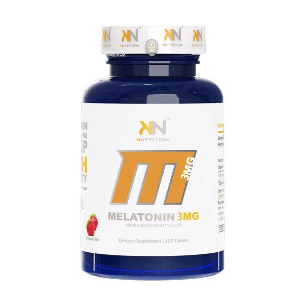 MELATONINA 3MG - 100 tablets Kriptonita Nutrition - Sabor Morango