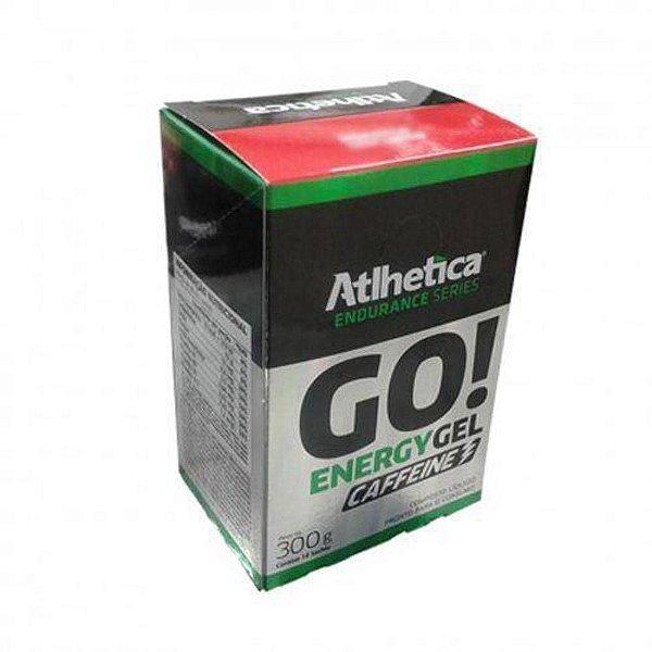GO! ENERGY GEL CAFFEINE (10 sachês) - Atlhetica Nutrition