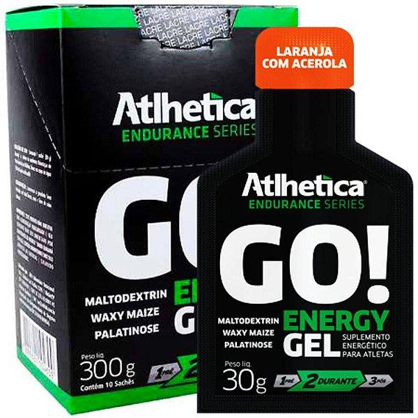 GO! ENERGY GEL(10 sachês) Atlhetica Nutrition