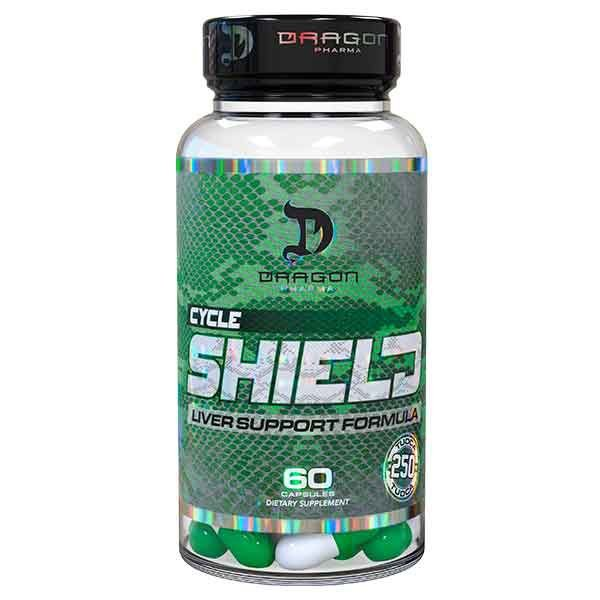 CYCLE SHIELD - 60 cápsulas - Dragon Pharma