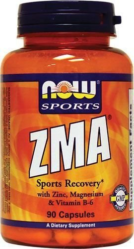 ZMA  90 cápsulas	Now Sports