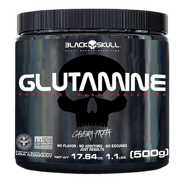 GLUTAMINE500g Black Skull