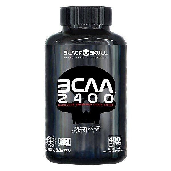 BCAA 2400 - 400 tablets Black Skull
