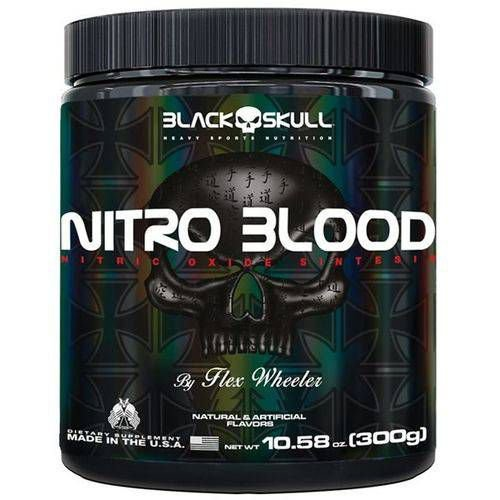 NITRO BLOOD - 300g- Black Skull